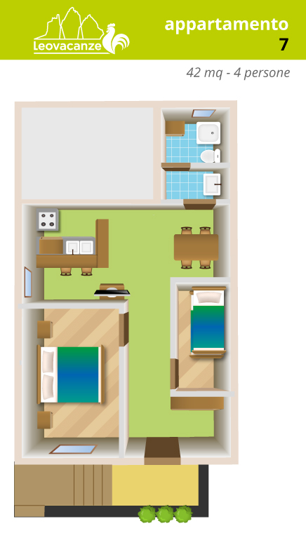 appartamento 7 - Leo Vacanze